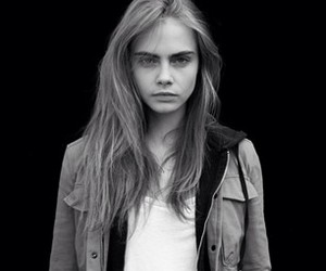 cara delevingne, model, and black and white image