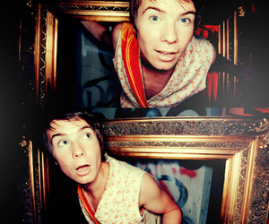 chris, skins, and cute image