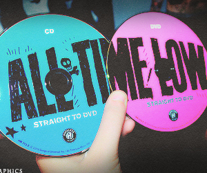 all time low and cd image