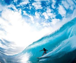 sea, surf, and sky image