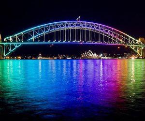 australia, rainbow, and Sydney image