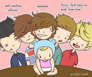 one direction, baby lux, and liam payne image