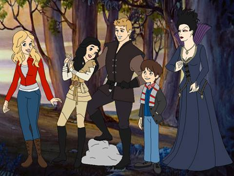 Once Upon A Time Desenho Via Facebook On We Heart It