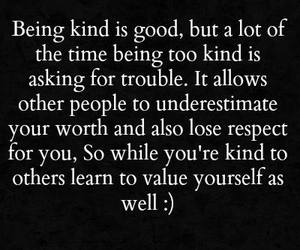 kind and quote image