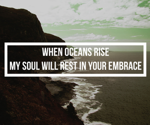 ocean, god, and hillsong united image