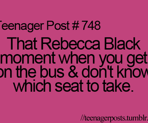 quote, teenager post, and bus image