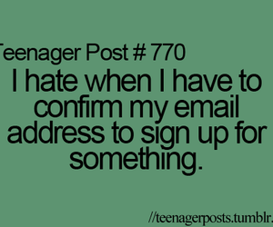 teenager posts image