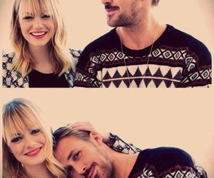 ryan gosling, emma stone, and couple image