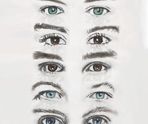 eyes, louis tomlison, and beutiful eyes image
