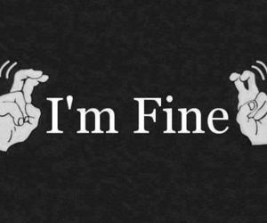 fine, quotes, and lies image