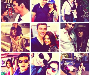 lucy hale, ian harding, and pretty little liars image