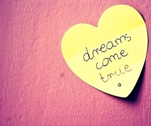 Dream, heart, and quote image