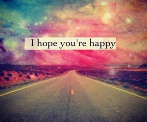 happy, hope, and quote image