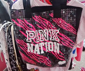 pink, bag, and girl image