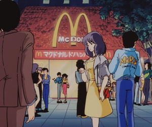 anime, McDonalds, and cute image