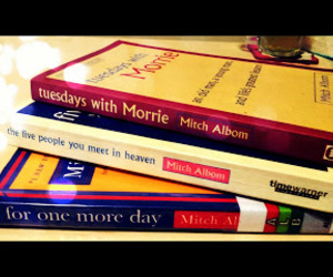 books, photography, and mitch albom image