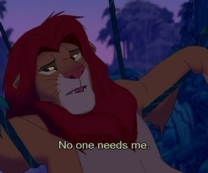 lion king, disney, and text image