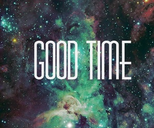 good time and galaxy image