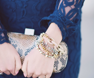 accesories, blue, and fashion image