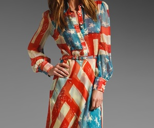 american, dress, and long sleeve image
