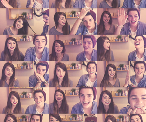 zoella, jack harries, and jack and finn image