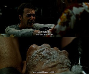 edward norton, fight club, and quotes image