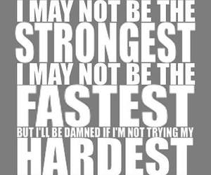 motivation, fitness, and strong image