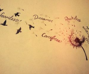 dreamer, fearless, and Dream image