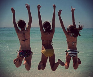 fun, summer, and friends image