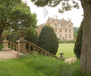 somerset, garden, and montacute house image