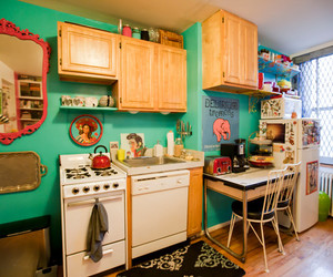colorful and kitchen image