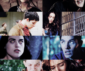 couple, merlin, and pendragon image