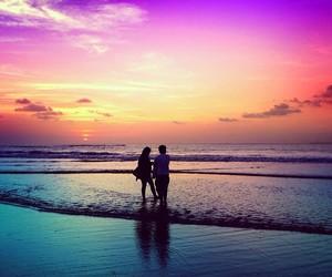 love, cute, and beach image