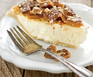 cake, nuts, and pie image