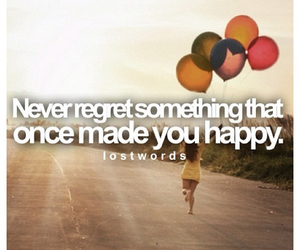 happy, quote, and balloons image