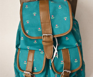 backpack and girl image