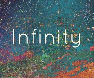 love, infinity, and quote image
