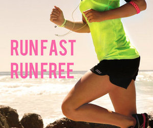 iphone, quotes, and run image