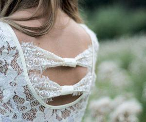 girl, fashion, and lace image
