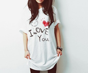 girl, love, and I Love You image