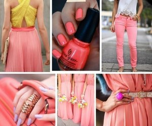 dress, photography, and yellow image