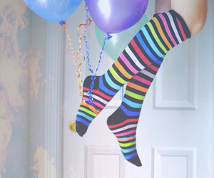 balloons, socks, and colors image