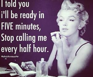 quotes, Marilyn Monroe, and funny image