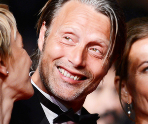 smile and mads mikkelsen image