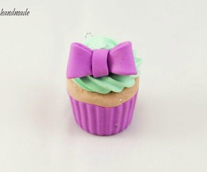 blueberry, cupcake, and fimo image