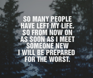 quote, sad, and people image