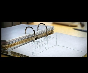 <3, drawing, and Paper image