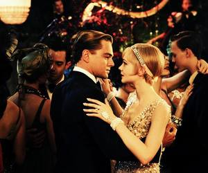 Carey Mulligan, dance, and leonardo dicaprio image