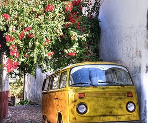 old car, photography, and van image