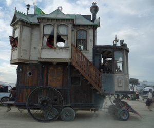 Burning Man, howl's moving castle, and cassie love it image